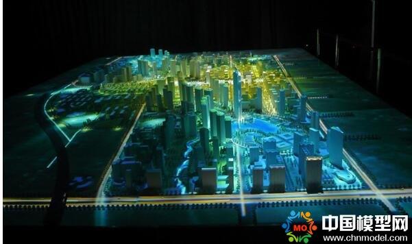 数字沙盘三维模型效果震撼展示信息量大