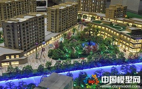 御府湾建筑模型
