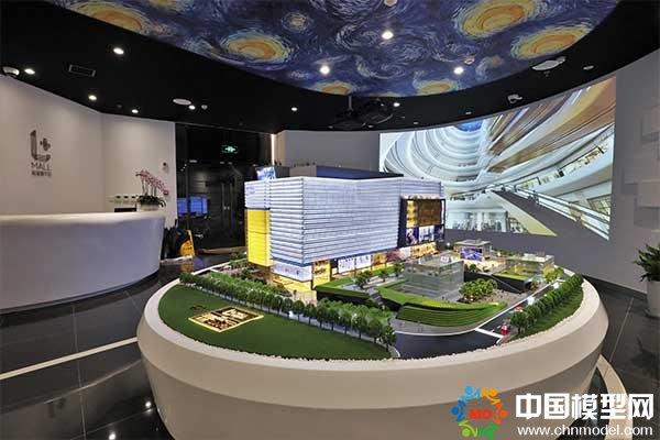 上海陆家嘴中心沙盘模型