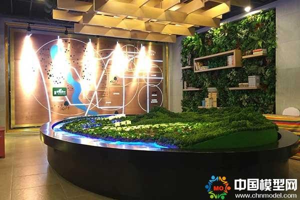 北京世茂新新小镇沙盘模型