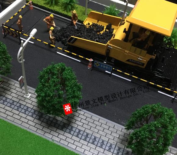 工程施工场景模型