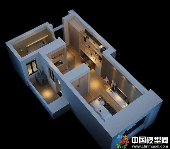 数字3D户型模型