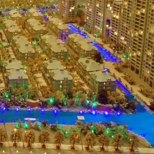 桐乡曼哈顿花园别墅模型