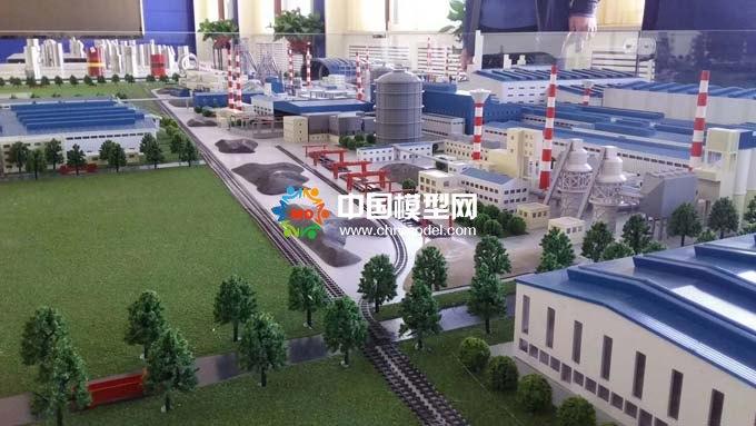 最新电厂沙盘模型