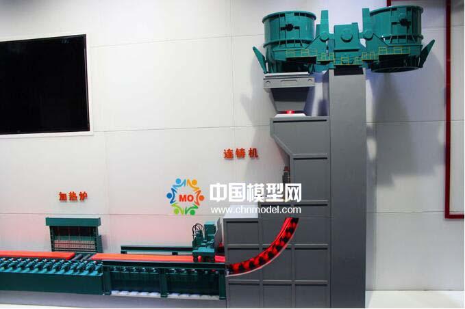 钢铁工艺流程沙盘模型