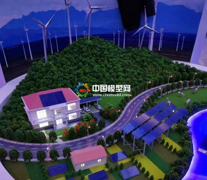 光伏风电新能源场景沙盘模型
