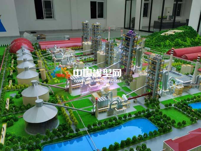 水泥厂沙盘模型
