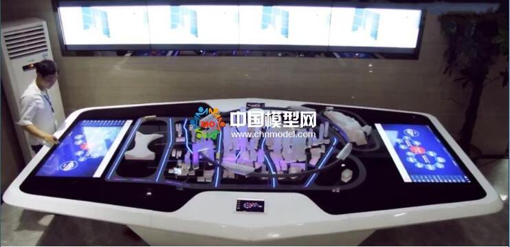 5G智慧交通沙盘模型