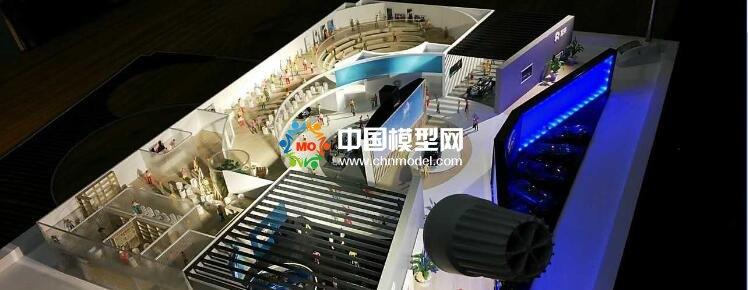 汽车展厅沙盘模型