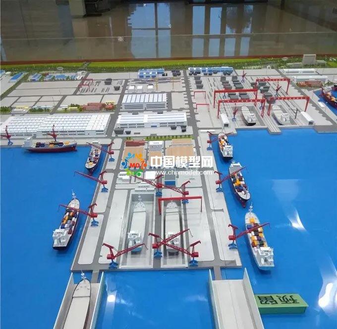 船厂沙盘模型
