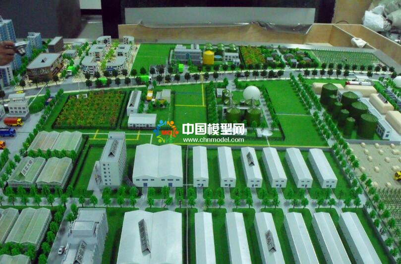 能源再生利用,城市垃圾发电沙盘模型
