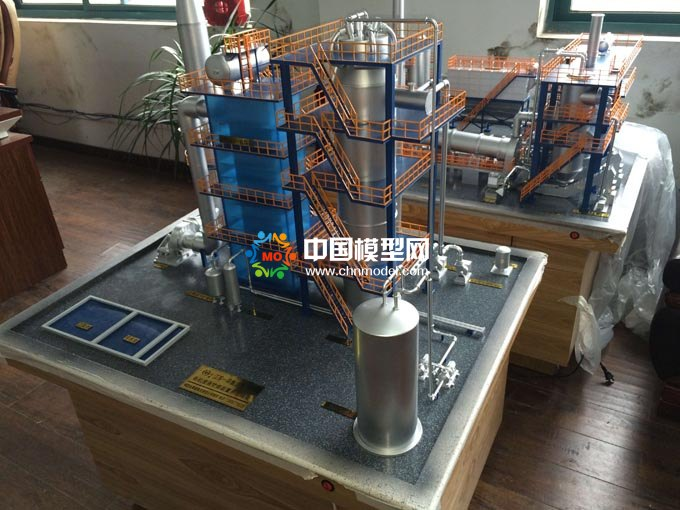 有机废液处理沙盘模型