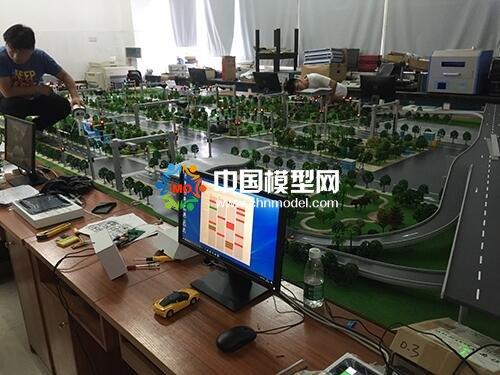 智慧城市交通模拟仿真教学沙盘模型