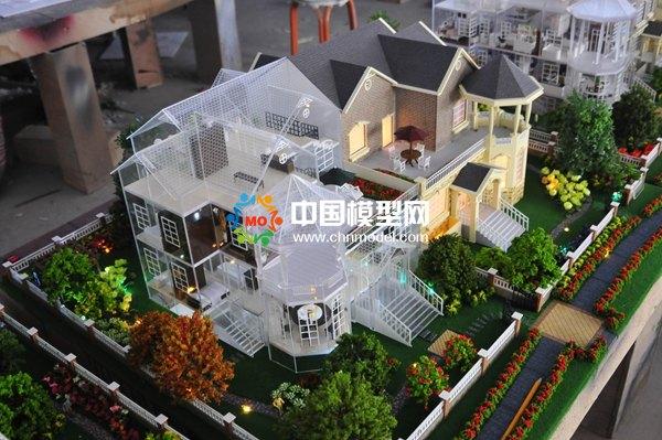 别墅模型可以做的超高仿真