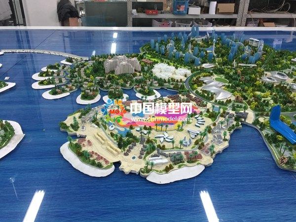 海花岛沙盘模型精彩赏析