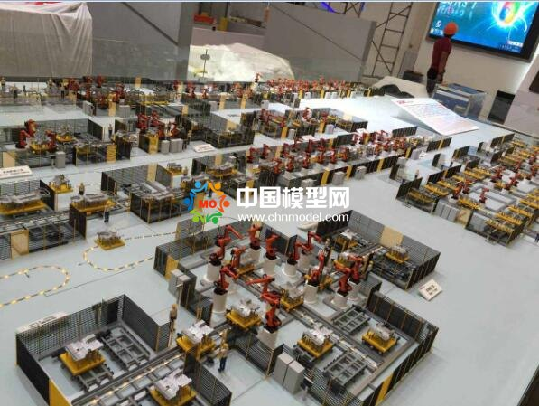 工业机器人沙盘模型