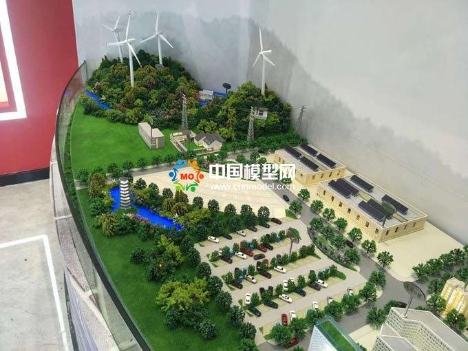 环保新能源输变电沙盘模型