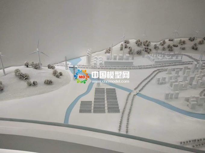 带电作业场景模拟沙盘模型