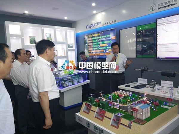 电力科技沙盘模型