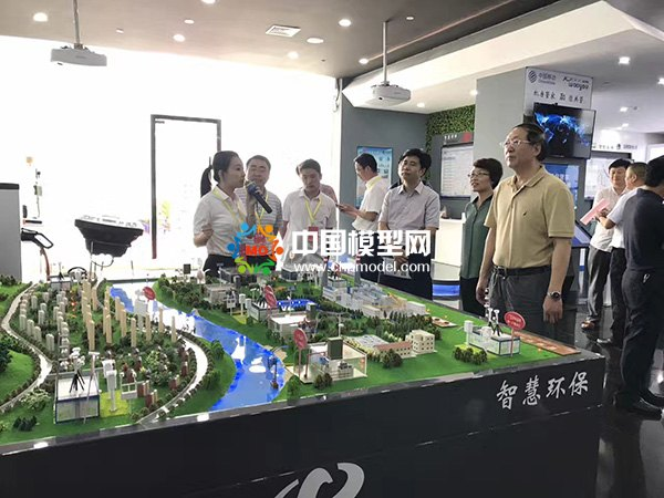 智慧城市沙盘模型展示
