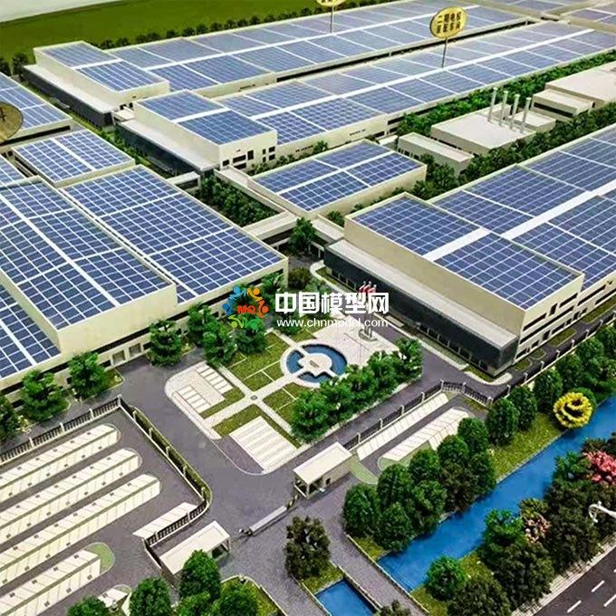 太阳能光伏屋顶发电沙盘模型