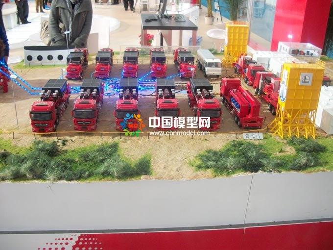 石油工程装备沙盘模型