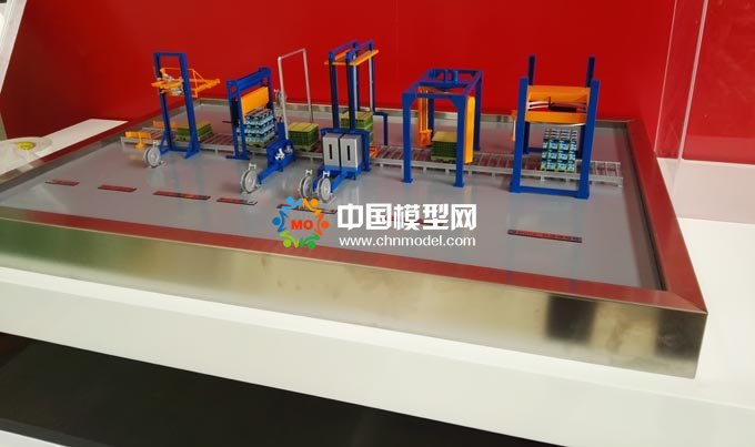 包装机械模型,打包机模型,打捆机模型
