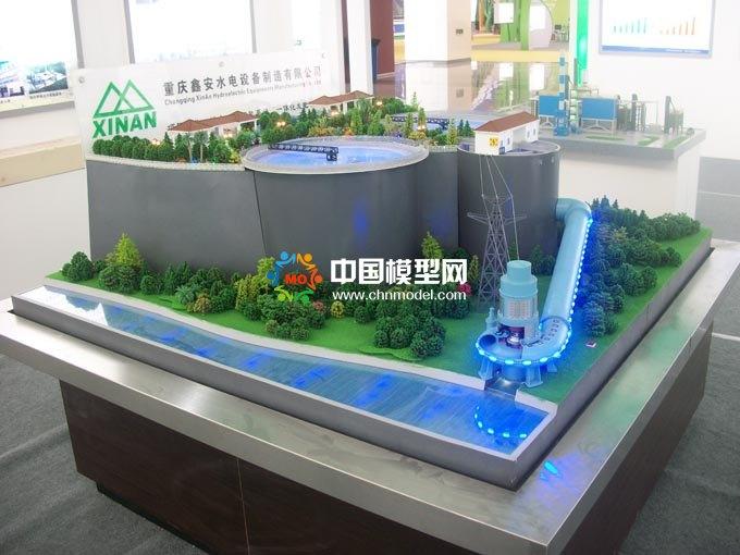 城市污水回能发电沙盘模型