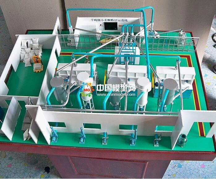 中科院:小麦糊粉层分离技术沙盘模型