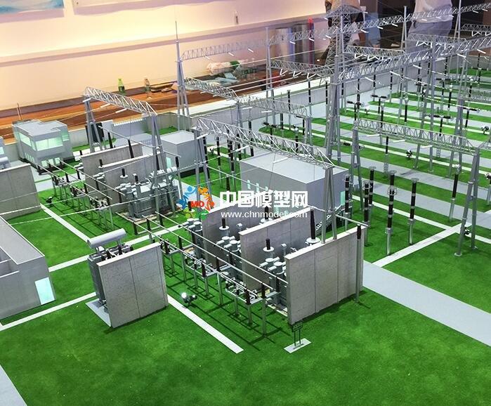 国家电网大型变电站沙盘模型