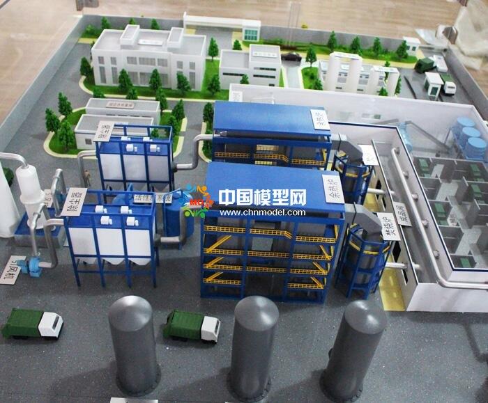 污泥处理设备沙盘模型