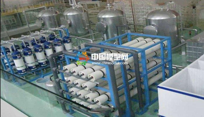 废水零排放沙盘模型