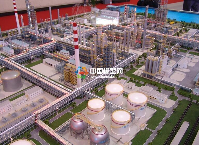石油化工沙盘模型(图)
