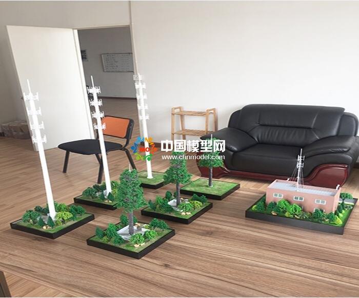 信号塔模型,基站模型,5G发射塔模型
