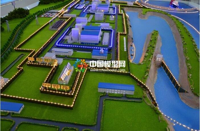 核电厂沙盘模型