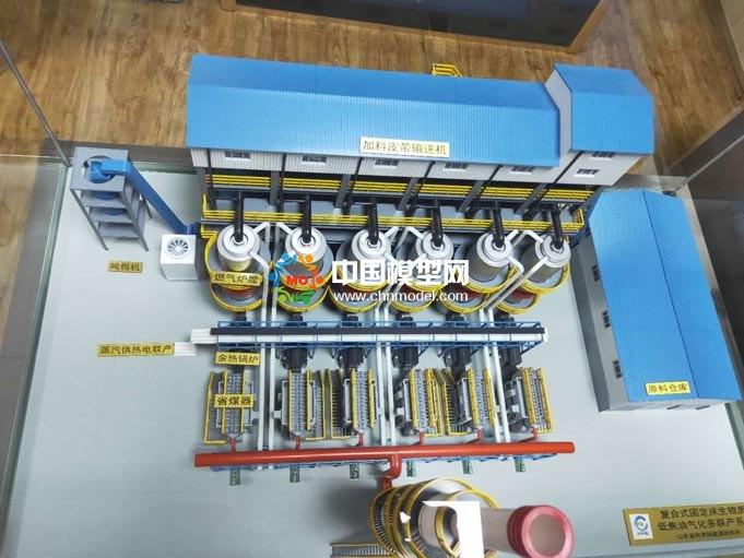 生物质气化多联产系统模型