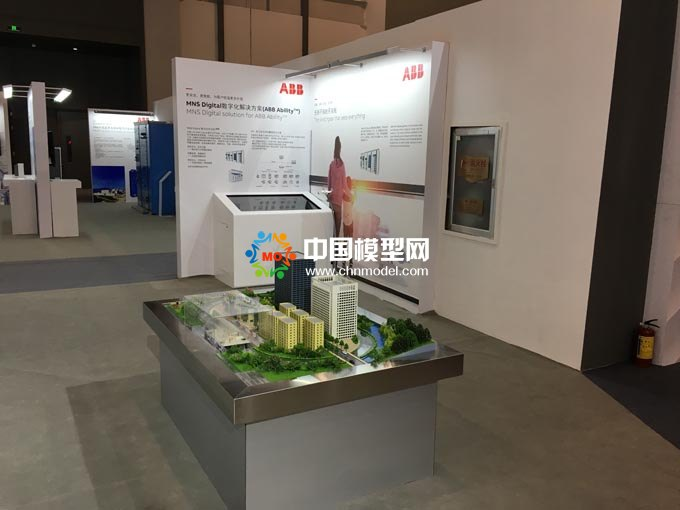 ABB数字化解决方案沙盘模型
