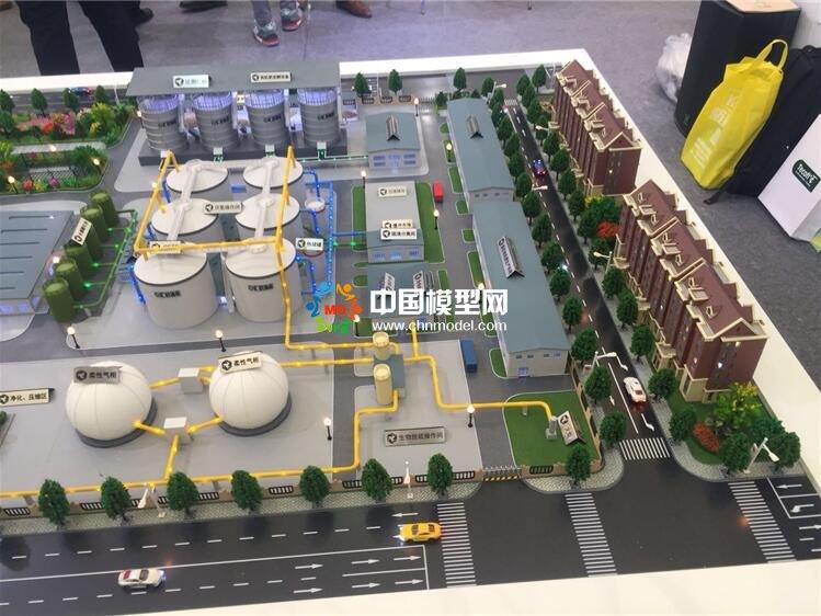 有机废弃物处理沙盘模型,沼气工程模型