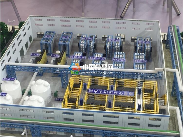 废水超滤模型,废水RO模型,废水处理沙盘模型