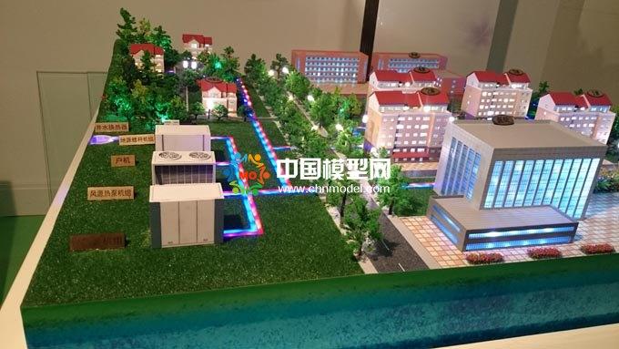 地源热泵系统沙盘模型,风源热泵系统沙盘模型