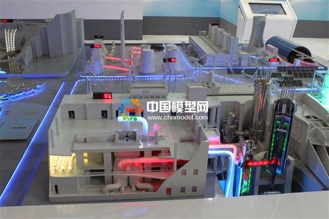 热电站模型,核电站模型,火力发电站沙盘