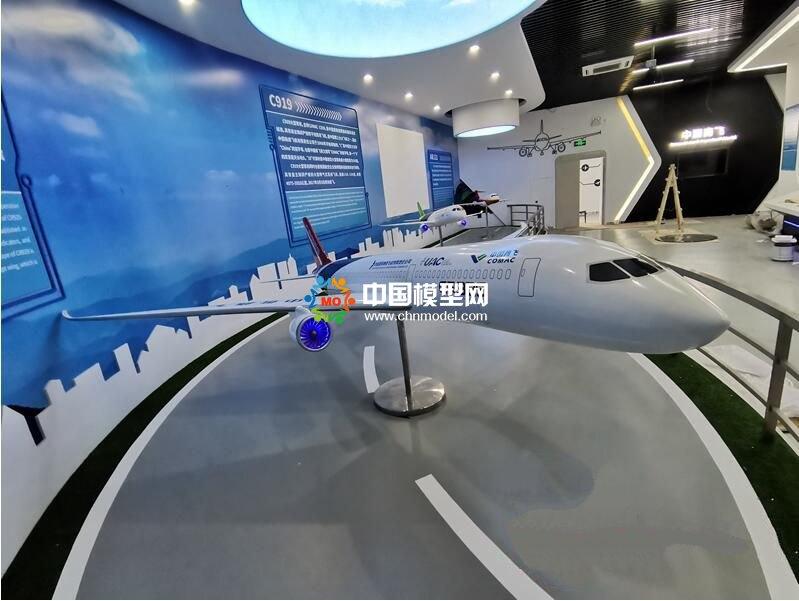 中国自主飞机模型展示:C919,ARJ21,CR929,AG600