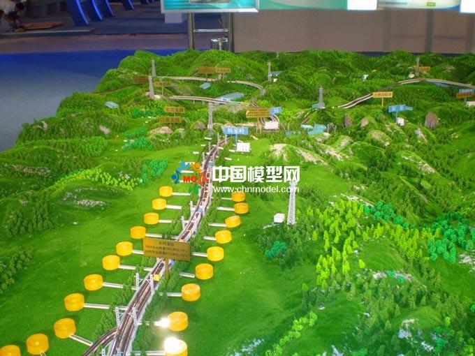 重载铁路沙盘模型