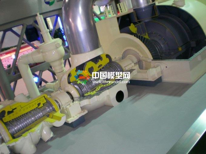 电厂汽轮机模型