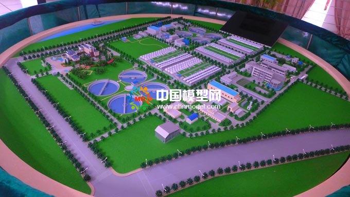水厂沙盘模型