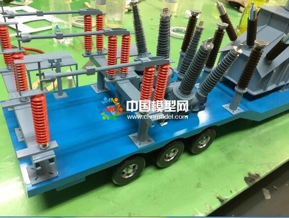 发电车模型