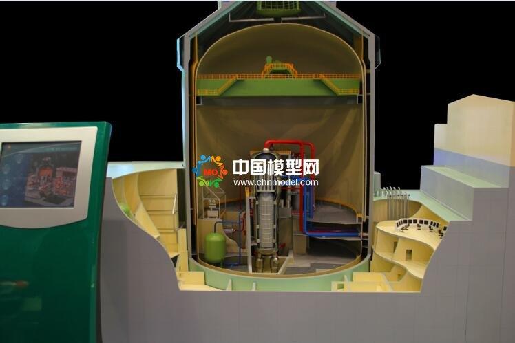 核电站反应堆模型
