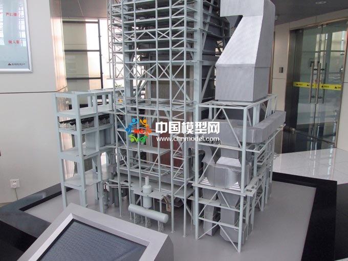 火力发电装备模型,电厂模型