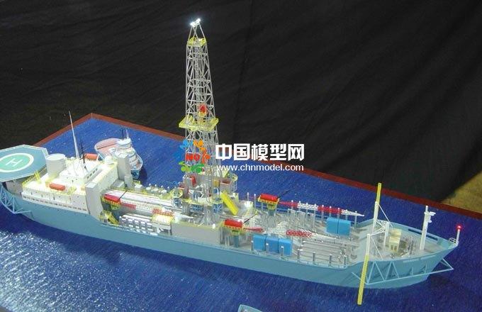 采油船模型,海上石油装备模型