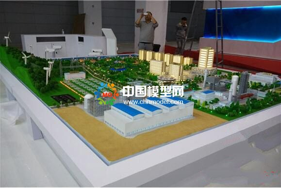 电缆厂沙盘模型